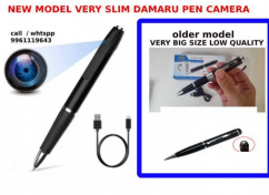 4K pen camera Latest model Very small size Video and audio recording.