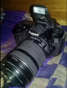 Canon 60d with 18 135mm lens