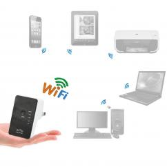 New  300Mbps Mini Wireless N Wifi Hotspot Router / Repeater