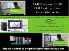 Blazing fast performance  Dell Precision  T7820 Dual Xeon silver 4116- on rental
