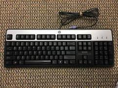 Branded Wired HP Keyboard In Great Condition