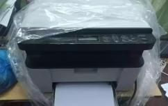 Brother laser printer with  Print,Photocopy,Scanner.
