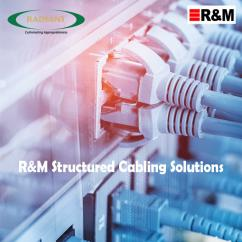 Radiant Info Solutions - R&M Structured Cables, Structured Cabling in Delhi, Ind