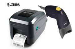 Refurbished ZEBRA GT800 Barcode & Label Printer With Barcode Scanner