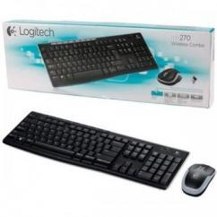 Logitech Multimedia Wireless keyboard and mouse