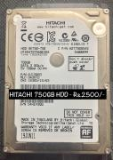 Western Digital Blue 1 TB HDD and Hitachi 750GB HDD