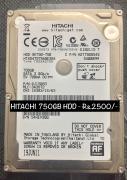 1 TB Western Digital Blue HDD & 750 GB Toshiba HDD
