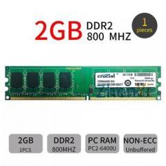 Refurbished 2GB DDR2 pc2 Desktop RAM