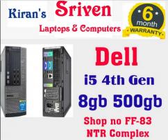Dell Refurb CPU i5 4th Gen 6m Warranty