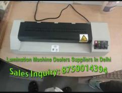 Lamination Machine Dealers in Delhi