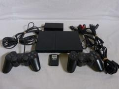 Modded PS2 with LCD Box for sale