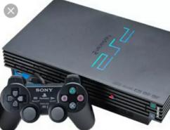PS2 with sailed setup CD player