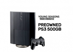 PlayStation 3 500GB Console preowned 25 GAMES