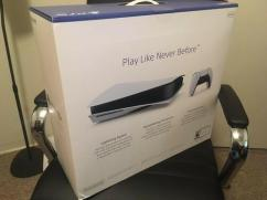 Brand new ps5 with complete accessories