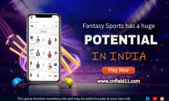 Fantasy Sports has a huge potential in India