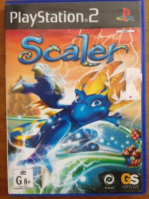 Scaler Playstation 2 Game (DVD)