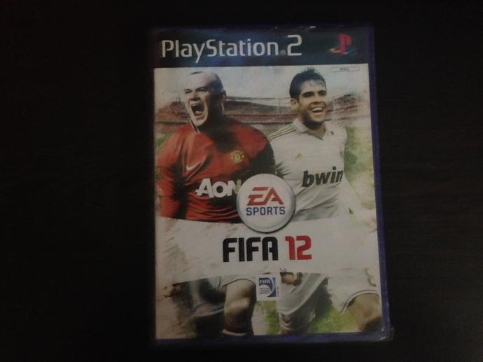 Fifa 12 Playstation 2 game (DVD)