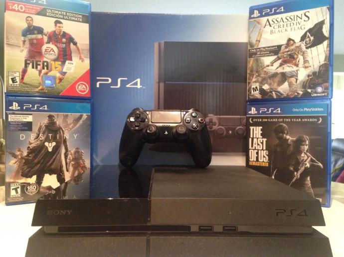 Free Shipping For 4 PS4,New,Warranty,Original,10 GAMES