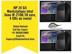 HP Z4 G4 Workstations Intel Xeon W-2100,10 core, 4 GHz on rental