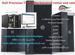 Dell Precision T7920, Intel Xeon 3104 1.7GHz Six-Core, 32GB, on rental