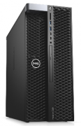 Dell Precision T5820, Black, Xeon W-2123, 3.6 GHz - 16 GB, NVidia Quadro P1000 o