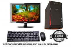 NEW DUAL CORE DESKTOP COMPUTER AT RS.7999 only
