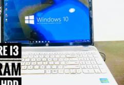 HP Pavilion G6 Corei3 4GBRam 500GB HDD Windows10