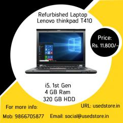 Refurbished Lenovo Thinkpad T410 Laptop
