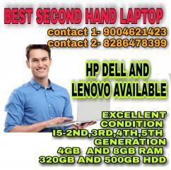 SECOND HAND LAPTOP