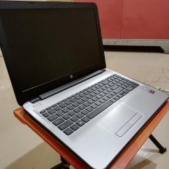 Laptop hp notebook silver colour
