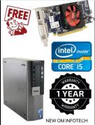 DELL i5 CPU/GRAPHICS CARD FREE
