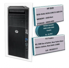 HP z620 Workstatons -Dual Xeon Core E5-2600 CPU_