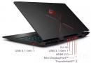 Hp Omen 15-dc0012ns Gaming Laptop Nvme 16gbram Brand New