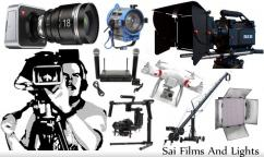 Film Shooting Equipments On Rent, Hire Camera, Lights, Sound