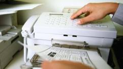 Used Fax Machine In Working Condition