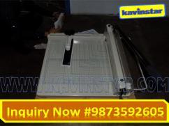 858A3 Desktop Manual Paper Cutter, Paper Cutting Machine, Guillotine