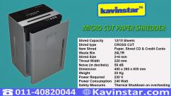 High Security Paper Shredder Machine Price in Delhi