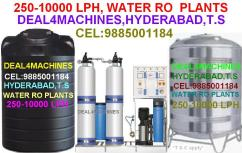 water R O PLANTS- 250 TO 5000 LITERS-CEL-9885001184