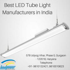 Best LED Tube Light Manufacturers in India