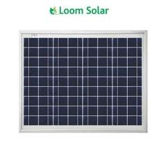 Loom solar 10 watt - 12 volt panel for mobile charging