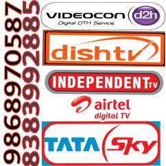 Tata SKY INDEPENDENT TV HD CONNECTION DISH TV HD CONNECTION