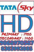 TATA SKY PRIMARY AND SECONDARY CONNECTION  HD