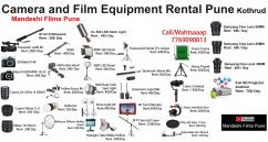 Film Equipment Rental Pune  Filmmaking Equipment Rent Pune