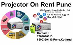Digital Full HD Projector on Rent Pune Contact  7769090813