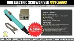 INDE Electric Screwdriver