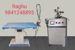 Vaccum Ironing Table &Steam Boiler