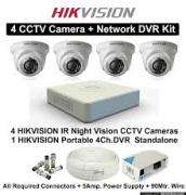 Hikvision CCTV Security System kit with installation only 21,000