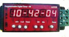 Programable Digital Timer Timer with Real time Clock