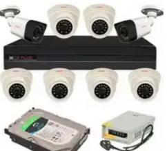 CCTV for office and school with biometric