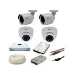 CCTV 4CH complete set up